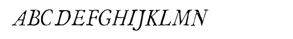 1786 GLC Fournier Narrow Italic  Free Fonts Download
