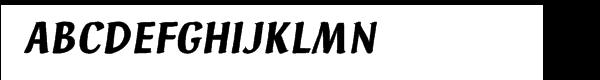 Ad Hoc™ Italic  Скачать бесплатные шрифты