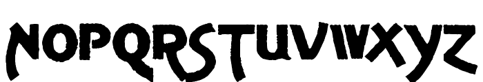 Advertising Gothic Demo Font LOWERCASE