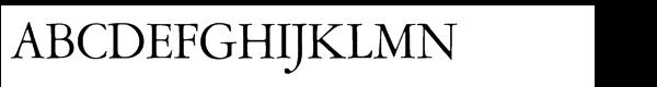 Amsterdamer Garamont CE Regular (P)  Free Fonts Download