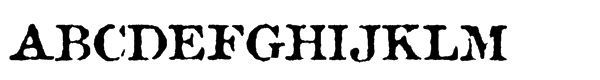Attic Antique Regular  フリーフォントのダウンロード