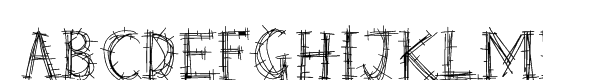 Barbed Wire  Free Fonts Download