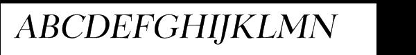 Belucian Demi Italic  フリーフォントのダウンロード
