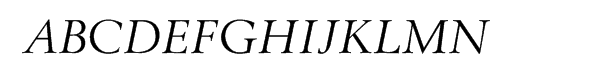 Berling™ Nova Pro Display Regular Italic  Free Fonts Download