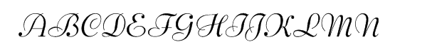 Bernhard Script Regular  Free Fonts Download