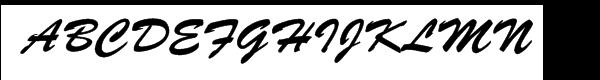 Brush Script™  フリーフォントのダウンロード