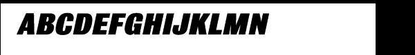 Bulldog™ Extra Bold Italic  नि: शुल्क फ़ॉन्ट्स डाउनलोड