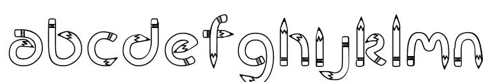 CK Rubber Pencil  Descarca Fonturi Gratis