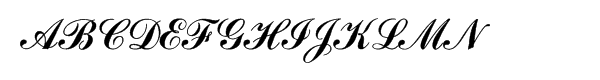 Commercial Script (Mec)  Free Fonts Download