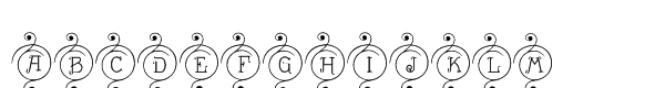 Drianh Decorative 1  font caratteri gratis