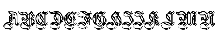 EmbossedGermanica  What Font is