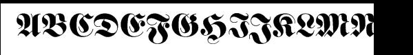 """Fette Frakturâ""""¢ Com Regular  les polices de caractères gratuit télécharger"""