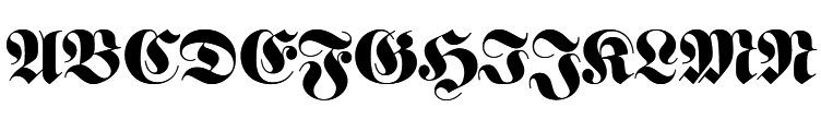 Fette Fraktur Standard  les polices de caractères gratuit télécharger