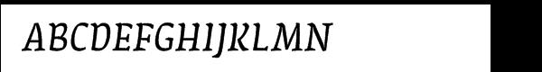 FF Amman Serif Arabic Regular Italic  les polices de caractères gratuit télécharger