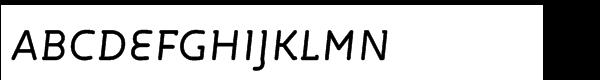 FF Roice Std Medium Italic  フリーフォントのダウンロード