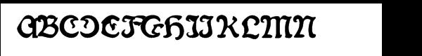 Fin Fraktur Versalete  baixar fontes gratis