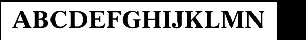 "Gazetteâ""¢ Bold  baixar fontes gratis"