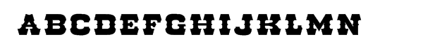 Go West Open Fill  font caratteri gratis