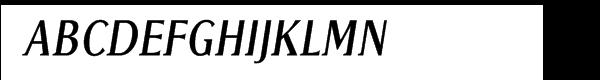 Golota Italic  Скачать бесплатные шрифты