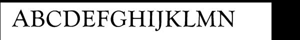 Goudy Com Catalogue Regular  Free Fonts Download