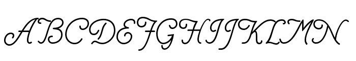 Helve Cursive  What Font is