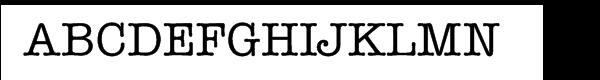 ITC American Typewriter Pro Medium  Free Fonts Download