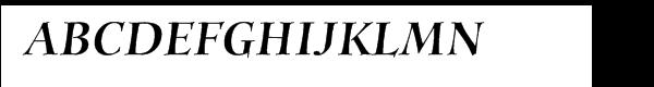 """ITC Animaâ""""¢ Black Italic  les polices de caractères gratuit télécharger"""