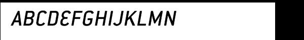 ITC Conduit™ Medium Italic  नि: शुल्क फ़ॉन्ट्स डाउनलोड