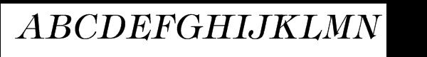 ITC Tiffany® Italic  Free Fonts Download