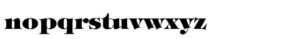 ITC Tiffany™ Std Heavy Font LOWERCASE