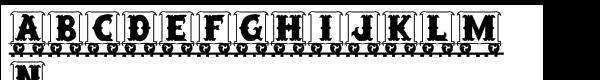 Letter Train Regular  Free Fonts Download