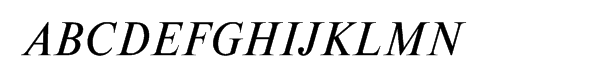 Newton Multilingual Italic  Free Fonts Download