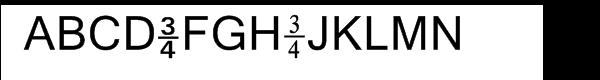 Numerics 11  Free Fonts Download