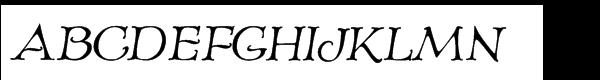 Old Paris Nouveau Italic  Free Fonts Download