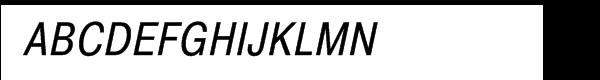 Pragmatica Condensed Oblique  Скачать бесплатные шрифты