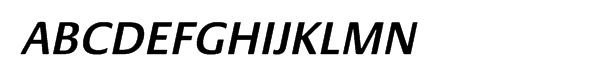 Praxis® Pro Semibold Oblique  Free Fonts Download