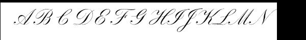 Sackers English Script  免费字体下载