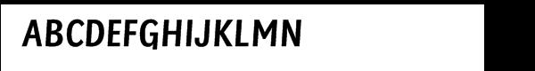 Sassoon® Primary Com Medium Condensed  Free Fonts Download