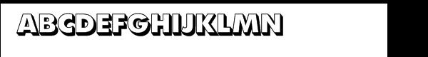 SG Futura® Shaded SH Extra Bold  Free Fonts Download
