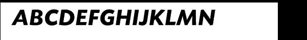 SG Today Sans Serif SB Bold Italic  Скачать бесплатные шрифты
