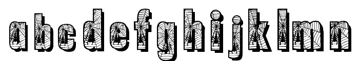 Spiderman Font LOWERCASE