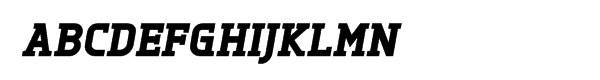Tertre Black Italic™  Free Fonts Download