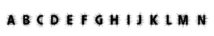 Thorn  What Font is