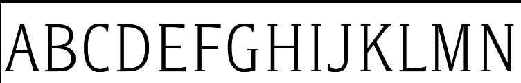 Titla Condended Light  baixar fontes gratis