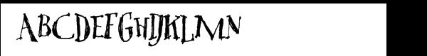 Tree Persimmon  フリーフォントのダウンロード