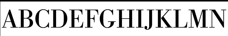 URW Bodoni Regular  Free Fonts Download