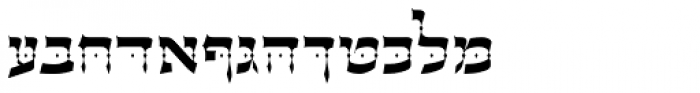 OL Hebrew David  Free Fonts Download